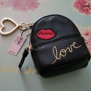 Victoria's Secret Mini Backpack Keychain